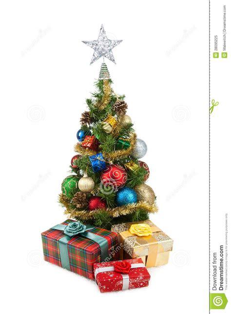Gift Box Tree - tree gift boxes 1 royalty free stock photo