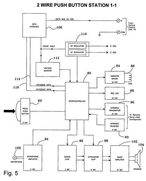 Patent Us7145476 2 Wire Push Button Station Control