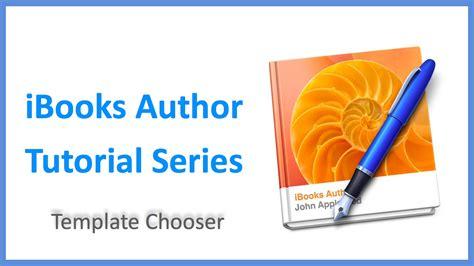 ibooks author templates ibooks author tutorial series template chooser