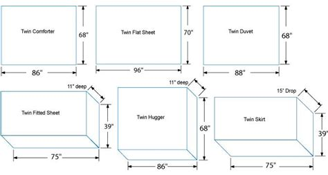comforter measurements bed spread measurments by size twin bedding sizing for