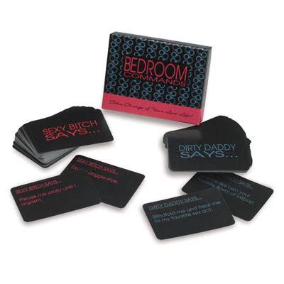bedroom command cards bedroom commands