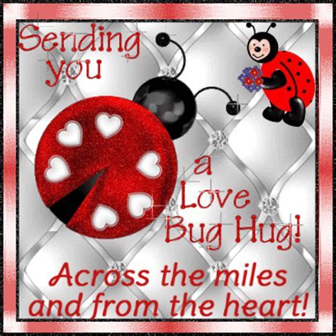 Across The Miles Love Bug Hug. Free Hugs eCards, Greeting