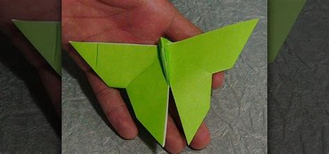 Butterfly Paper Folding - how to fold an easy paper butterfly with origami 171 origami