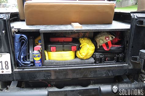 homemade tactical vehicles securing your valuables build a diy vehicle lock box on a