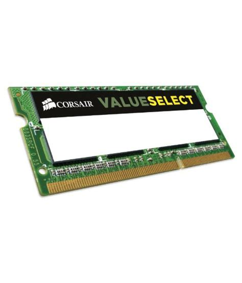 Corsair Memory Notebook 4gb Ddr3 Pc 10600 Corsair 4gb 1x4gb 1333mhz Pc 10600 204 Pin Ddr3 Sodimm