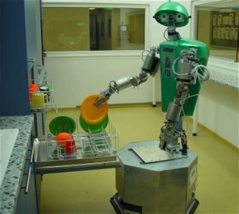 Robot Kitchen by Dish Washing Robot Arm Science Fiction In The News
