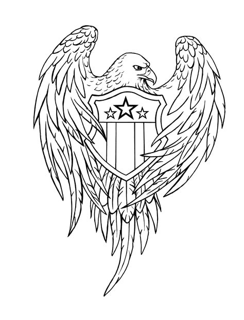 tattoo eagle drawing eagle with banner tattoo design real photo pictures