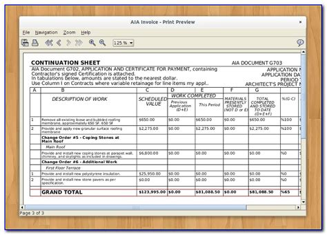 aia document  schedule  values form resume examples epdllxr