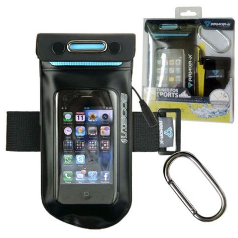 armor x 6 meter waterproof sport armband for iphone
