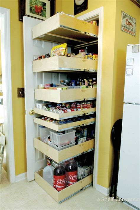 how to make a pantry out of a bookcase how to build pull out pantry shelves diy projects for