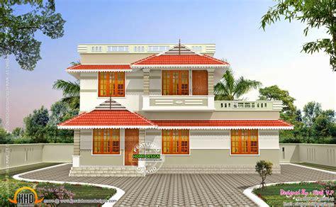 corner window house  plan keralahousedesigns