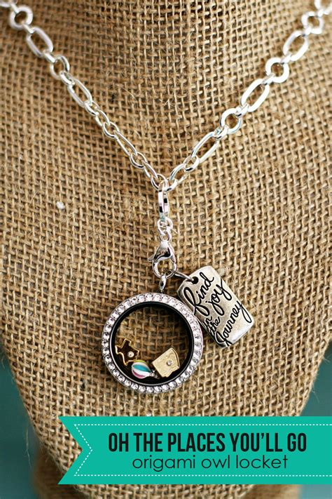 (origami owl) oh the places you'll go living locket   See Vanessa Craft