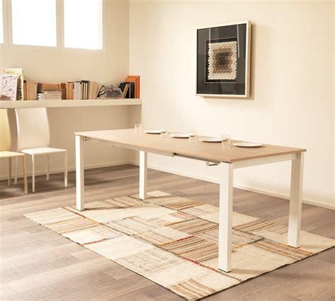 tavoli allungabili bianchi tavolo allungabile rovere miele 120 180 duzzle