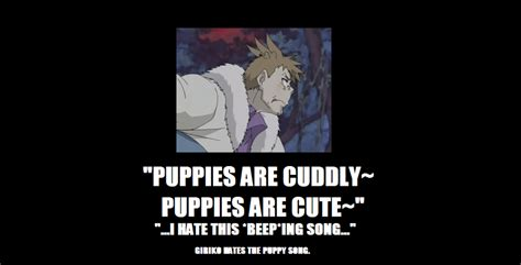 the puppy song giriko hates the puppy song motiv poster by pkmnfaninvadermia on deviantart