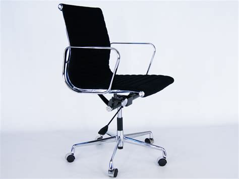 alu design helm chairs eames chair alu ea117 black