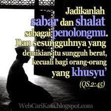 Jadikan Shalat Penolongmu gambar pp bbm islam gambar pp dp bbm
