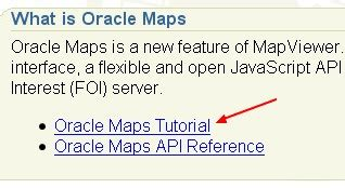 tutorial oracle spatial mapviewer installation of the demo files gerardnico