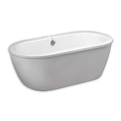 bathtub filler american standard cadet free standing tub w tub filler