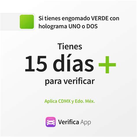 prrroga de verificacin estado de mxico pr 243 rroga para verificaci 243 n verifica noticias