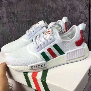 adidas nmd r1 boost shoes adidas nmd x gucci white color customs poshmark