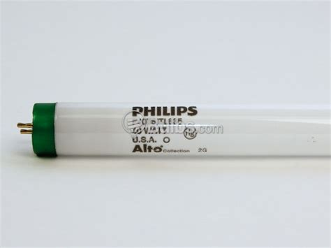 Lu Tl 40 Watt Philips philips 40 watt 60 inch t8 neutral white fluorescent bulb f40t8 tl835 alto 60 inches