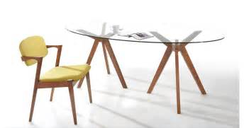 oval glass dining table modrest skylar modern glass oval dining table
