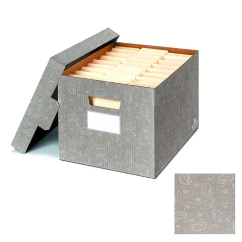 Decorative File Boxes by 4 Pack Bankers Box Decorative File Storage Boxes Letter