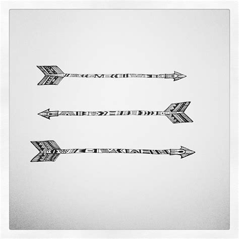 arrow tribal tattoo tribal arrow via evadesignstudio tattoos