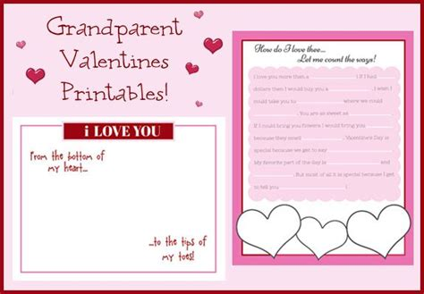 valentines mad libs s for grandparents madlib for and