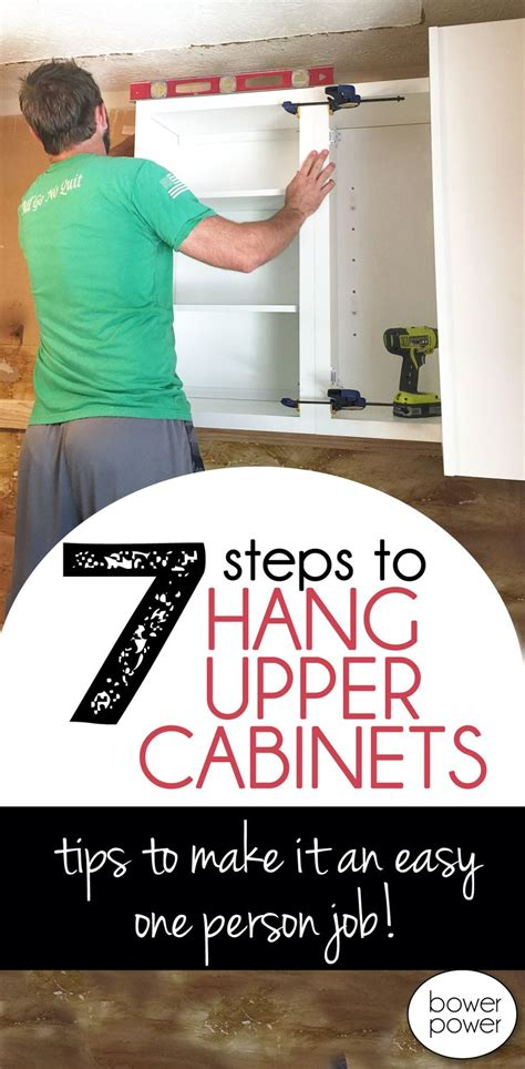 how to hang upper cabinets by yourself the 25 best installing kitchen cabinets ideas on