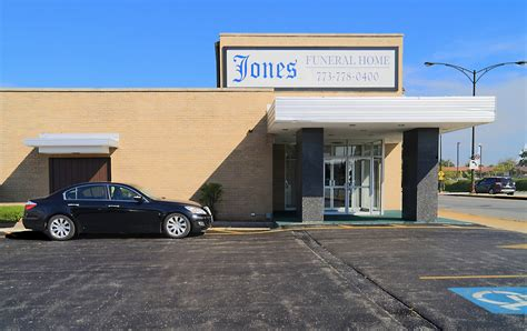 jones funeral home llc chicago il