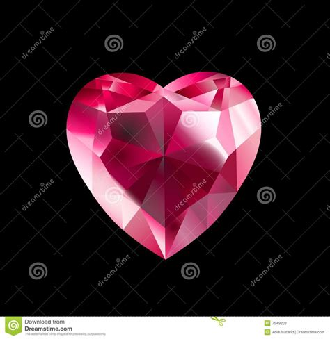 diamond heart stock photos image 7549203