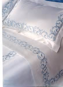 Duvet Covers Luxury Dea Marina Embroidered Italian Bedding Aiko Luxury Linens