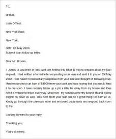 Follow Up Letter Template Follow Up Letter 7 Free Doc