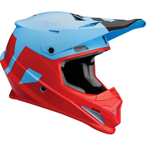 new motocross helmets thor new mx 2017 sector level matte blue red motocross