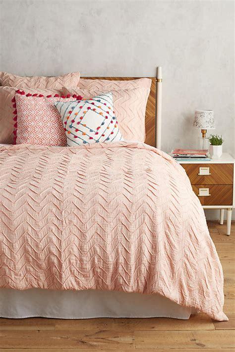 anthropologie comforter sale textured chevron duvet cover anthropologie