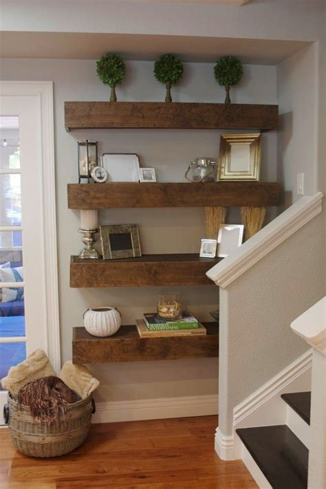 Shelf Ideas by 1000 Ideas About Reclaimed Wood Floating Shelves On