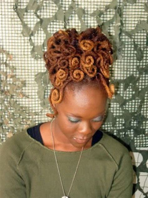 loc pin up styles for black women 714 best images about i love my locs on pinterest