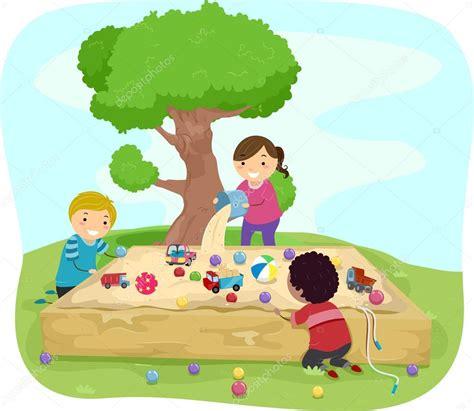 imagenes niños jugando con arena ni 241 os de la caja de la arena foto de stock 169 lenmdp