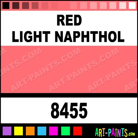 light naphthol transparent airbrush spray paints 8455 light naphthol paint