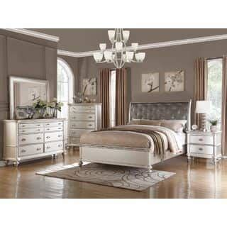 arielle 2 6pc bedroom set wood headboard buy online at bedroom sets for less overstock com