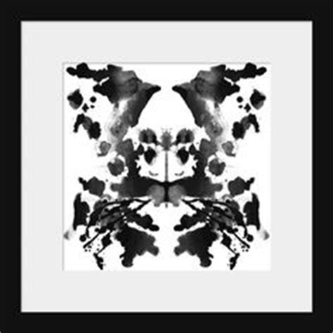 pattern psychology test take the ink blot test rorschach test to find out who