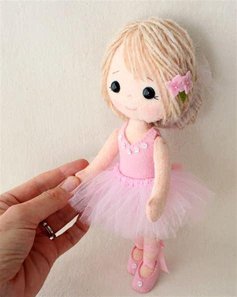 doll felt gingermelon dolls my felt doll book available for pre order