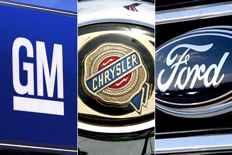 is chrysler gm gm ford and chrysler almost back to pre crash employment