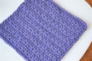 crochet in color dishcloth pattern