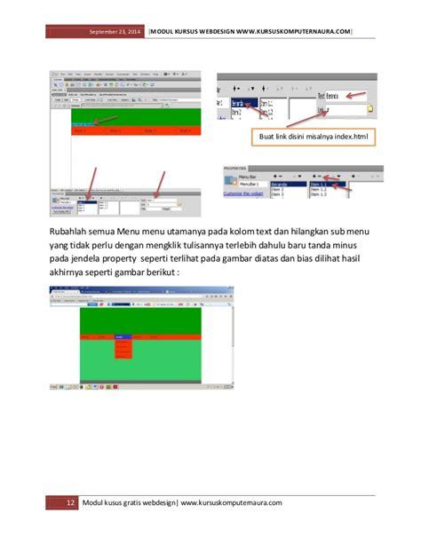 ebook membuat web dengan html modul dan ebook belajar membuat website untuk pemula