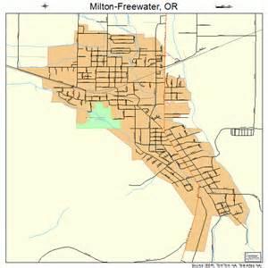 milton freewater oregon map milton freewater oregon map 4148600