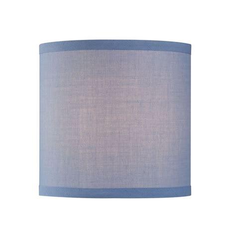 uno drum l shade uno drum l shade in blue linen sh9526 destination