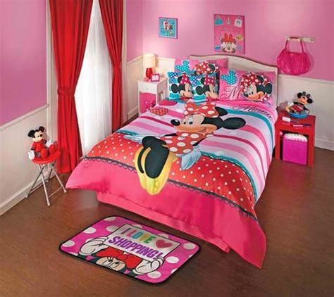 minnie mouse bedroom decor bedroom decor ideas and designs top ten minnie mouse themed bedding ideas