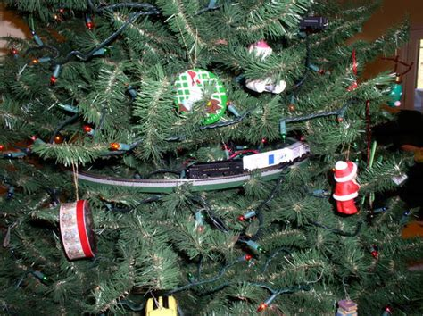 what type of train is under your christmas tree model